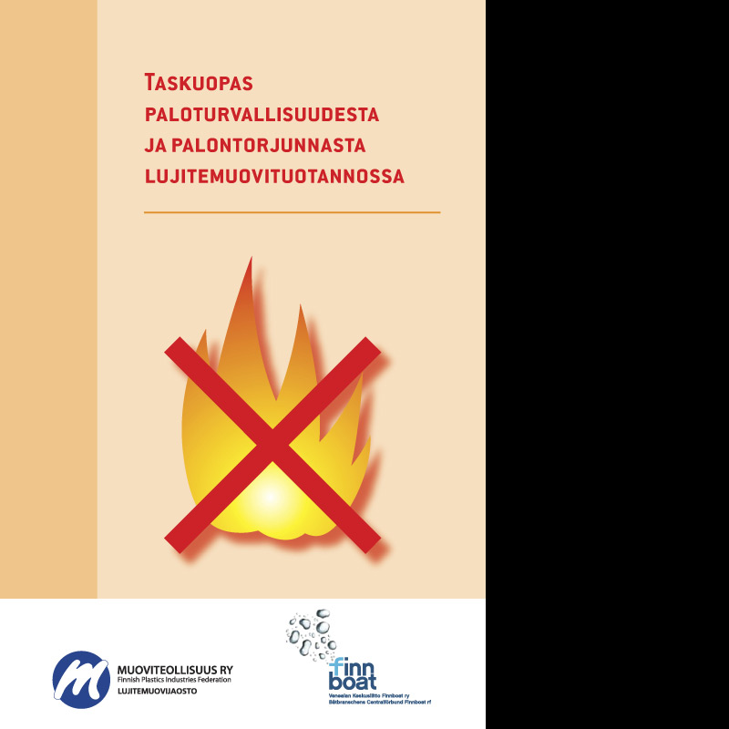 Muoviteollisuus ry, paloturvallisuusopas