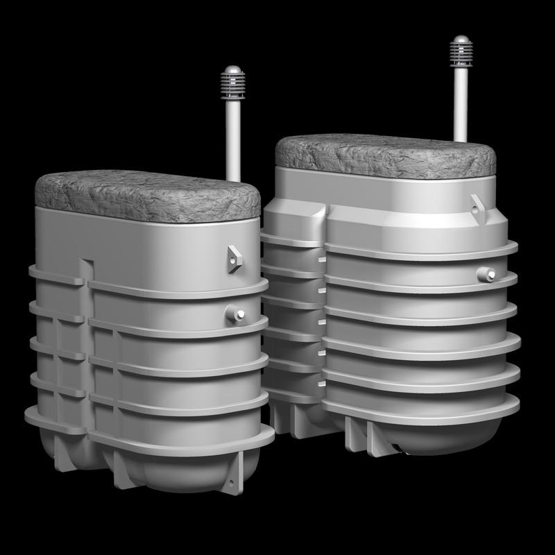 Jäteveden pienpuhdistamot, hinnastokuvat, Uponor